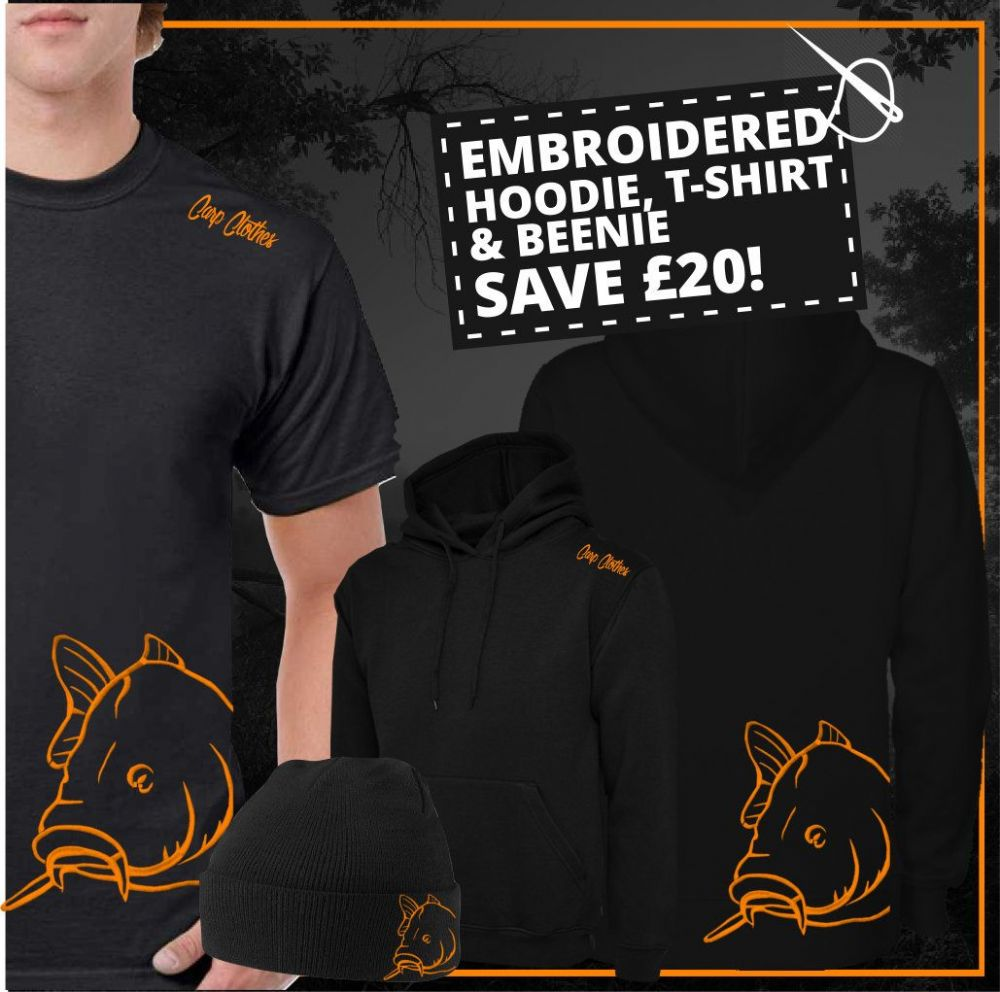 008 EMBROIDERED CARP DEAL